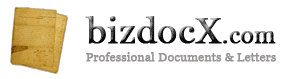 Professional Business Documents and Letters